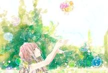 Ani - art / art styles on anime characters