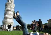 Leaning Tower of Pisa / Proof that you have helped to prevent the tower from falling over or, maybe not and what we have is one of those horrible holiday snaps that no one wants to see.   Except me that is...............! Please post your snaps and give us a laugh.
