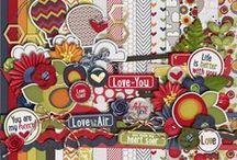 Digital Scrapbook Kits - Meredith Cardall / Digital Scrapbook Kits and promotions by Meredith Cardall