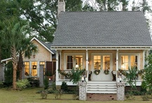 House Plans & Exteriors / by Sally Morrison