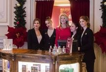 "BOUTIQUE VALMONT / A high-end pop-up ""boutique"" in the lobby of the famous Grande-Bretagne Hotel in Athens was opened from 4th up to 31st of December 2012, featuring special & exclusive editions of well known Swiss Valmont cosmetics plus new releases IL PROFUMO perfumes from Italy"