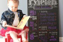 Ryleigh's 1st Birthday / by Krysten Robbins