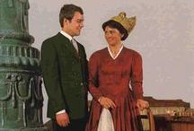 Central AT Oberoesterreich / Folk costumes from Upper Austria / Oberösterreich (Innviertel, Mühlviertel, etc.)