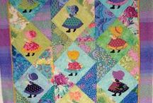 Quilts - Sunbonnet Sues and Reproduction Fabric / by Carol Bornsheuer