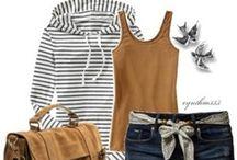 Fashion: Stripe Fashions / by Sally Morrison