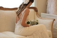 She Wore White. / Dream dresses! (and wedding day apparel) / by Shelly Voss PTL