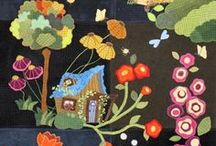 Quilts - Primitive and Wool / by Carol Bornsheuer
