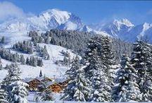 WINTER | ESPACE DIAMANT / Aan de voet van de Mont-Blanc liggen Notre Dame de Bellecombe, Les Saisies, Praz sur Arly, Crest Voland en Flumet, deze vormen samen Espace Diamant. Zelf noemen ze het de andere manier van skïën; wat betekent dat het allemaal relatief kleine dorpjes zijn met een goed skigebied. Het leven gaat hier traag en men heeft alle tijd. Heel landelijk en relaxed wintersporten dus!