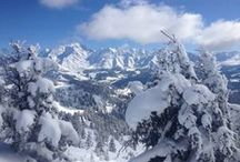 WINTER | EVASION MONT BLANC / Het skigebied Evasion Mont-Blanc ligt op een uur rijden van Genève aan de voet van de Mont Blanc (4810 m). Het gebied omvat Saint-Gervais/Saint-Nicolas de Véroce en Megève/Combloux, en strekt zich uit naar Les Contamines Montjoie, dat te bereiken is via de Mont Blanc Tramway.  Met 420 kilometer pistes en 116 skiliften schaart Evasion Mont Blanc zich onder de grootste skigebieden ter wereld.