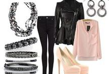 BLUSH IN BLACK / Shades of nude, blush and mink contrasted with sharp and striking black