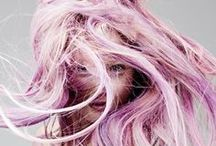 PURPLISM / Pale purple, pastel lavender, Lilac hair, punk style!