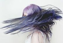 LAVENDER LOVE / Deep shades of purple, mauve and lavender.