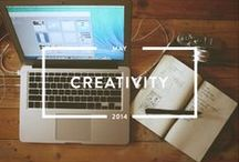 Creativity - May 2014 / To join the conversation on #creativity and our other monthly themes, check out Holstee's latest content platform, Mindful Matter. http://hlst.ee/1eN5d6Q