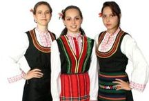 EU BG Misiya / Folk costumes of northern ethnographic region (North-West and Central-North Bulgaria) Mousia / Severna Balgariya Misiya / by P8ronella