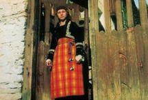 EU BG Rodopa / Folk costumes of Rhodopean ethnographic region (Central Southern Bulgaria) / Rodopa / by P8ronella