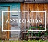 Appreciation - November 2014 / Read the #appreciation issue of mindful matter http://www.holstee.com/blogs/mindful-matter