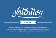 Intention - January 2015 / Check out the #intention issue of Mindful Matter: http://hlst.ee/1eN5d6Q