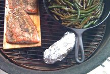 Kamado Kooker / Summer grilling, smoking and baking! Happiness is BBQ, friends and backyard... / by Carol Kackley