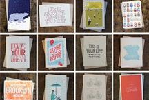 Stock Up Sale: 50% Off Letterpress Cards! / Select letterpress cards are half off now through 11/30, no coupon code required: http://hlst.ee/1kgOwGv / by HOLSTEE