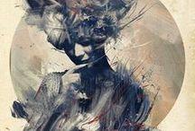 Illustration Atelier / Paintings, Illustrations & fine Crafts Inspiration