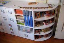 Craft Storage Organizational Ideas
