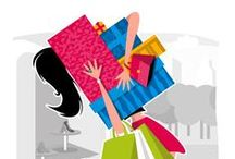 """Shop 'Til You Drop!"" / Sales and Sales and Sales!!!!"