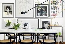 """The Black and White Room / """"Black and white is the new neutral"""" is probably the phrase we say most to our clients.  Infusing bold black and white patterns is a fun way to add pop to any room or space.  Use it to create focal points...it flows and matches everything.    Before & After Designs can create the space of your dreams.  Contact us TODAY at BeforeAfterDesigns.com. / by BeforeAfterDesigns"""