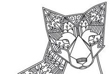 Zentangles, Patterns and Doodling