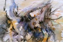 A Natural History - Art by Katerina Papazissi / Nature studies in watercolour