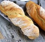 Brot, Brötchen & Backwaren ♡ / Rezepte für selbst gemachtes und frisch gebackenes Brot. Vom knusprigen Sonntagsbrötchen, fluffigen Hörnchen über Toast, bis hin zum kräftigen Sauerteigbrot. Zubereitung mit und ohne Thermomix