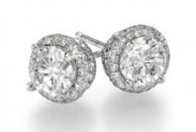 Diamond Stud Earrings / Diamond Stud Earrings are a very popular option for an anniversary present or birthday gift. Diamond Stud Earrings are classy, basic yet  sophisticated and most likely the most effective bet since many women will cherish them. Browse our Diamond Stud Earrings collection on this board