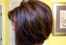 H A I R   STYLE / Hair doesn't make the woman but good hair definitely helps ! / by Iryna Sharanevych-Vantsa