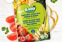 Baby Gourmet Baby Food / Check out all the great baby food and snack options we have!
