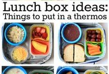 Not Your Average School Lunch / Creative inspiration for packing a fun & healthy lunch