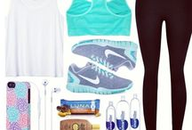Excercise and workout outfits!