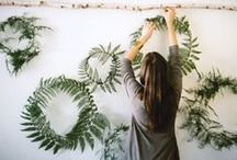 FLORAL DIY / Play with flowers and decorate your home