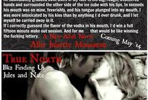 True North Bk2 Finding Us - Jules and Nate / True North Book 2 Finding Us Jules and Nate Amazon International Sports Bestseller  What happens when a rough rodeo rider finds out the woman he loves but could never have; a shy, soft spoken, sheltered virgin is a bestselling erotic romance writer and the stories are her fantasies about him?
