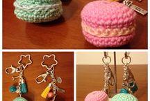 Portachiavi / Handmade crochet keychain
