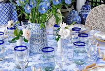 Blue wedding inspo / Inspiring images of wedding images in shades of blue.