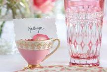 Pink 'n' Pretty / Inspiring wedding pretty in shades of pink.