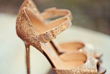 Glamorous Gold / Inspiring images of wedding pretty in shades of gold.