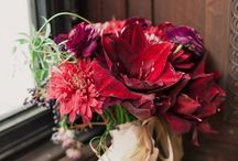 Romancing the Reds / Inspiring images of wedding pretty in shades of red.