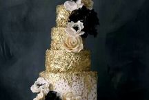 Black and gold / Inspiring images of pretty in blacks, golds, gloss and glitter.