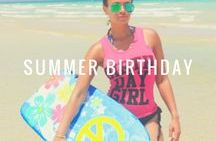 Summer Birthday Fun / All things related to summer birthday fun! Summer outfits, party supplies, gifts, and more for that hot summer birthday!