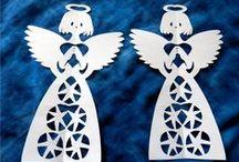 Vánoce&zima - andělé