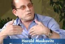 Harold Moskovitz en TV / Durante los años Harold Moskovitz se presenta en muchos Medios televisivos, Radios, periódicos, etc.