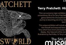 HisWorld Exhibition / Announcing upcoming major exhibition . . . Terry Pratchett HisWorld at Salisbury Museum.