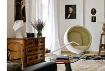 Bulles Concept / Autour de la Bulle - Interior's Design / Interior's designers are sometimes inspire by the Bulle