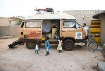 Our EX VW T3 Syncro/ Nuestra EX VW T3 Syncro / La furgo que nos acompaña en nuestras aventuras/ Our team mate during our adventures: a VW T3 Syncro