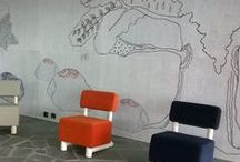 Acoustic boards / Decorative acoustic wall panels by Papurino